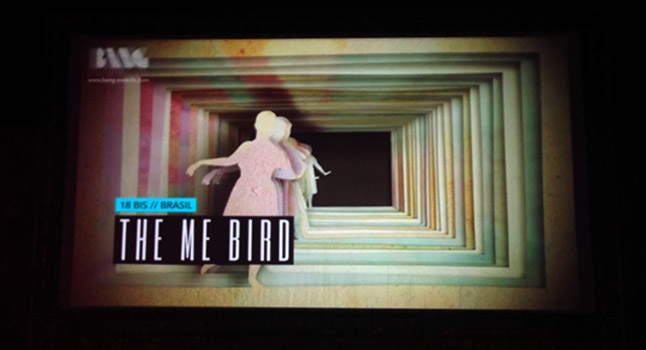 The Me Bird, finalist of the Open Theme category, screened at the castle